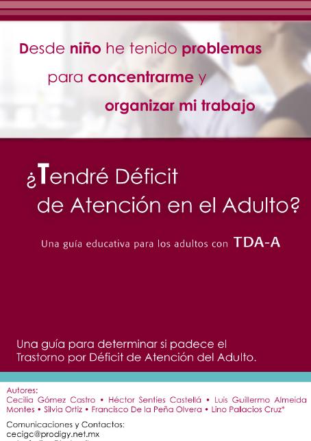 Portada TDAH en el Adulto